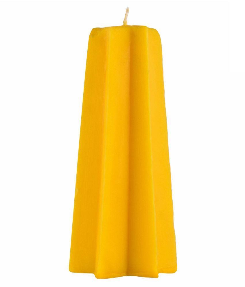 SOHUM CANDLE Yellow Wax Tea Light - Pack of 2