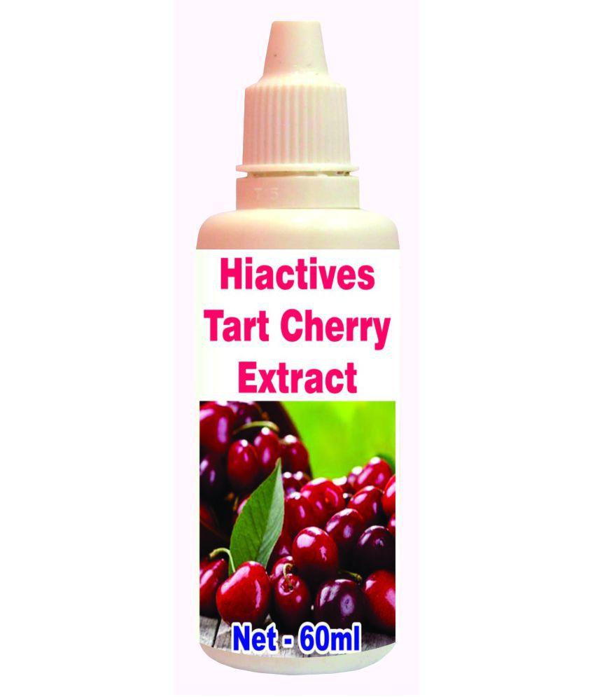Tonga Herbs Hiactives Tart Cherry Extract Drops -50ml(Same 50ml Drops Free) 60 ml Minerals Syrup