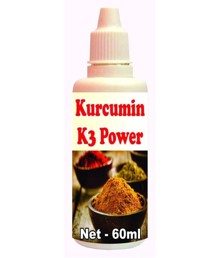 Tonga Herbs Kucrumin K3 Power Drops - 50 ML(Get The Same 50ml Drops Free) 60 ml Minerals Syrup