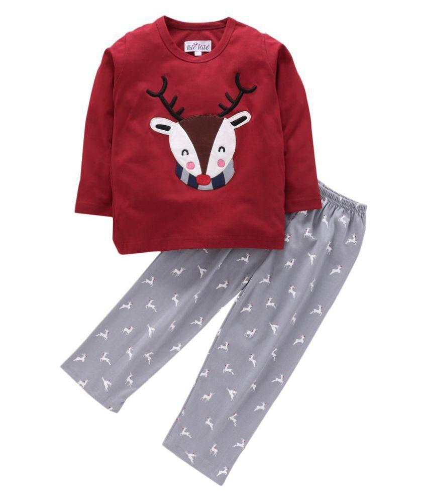 Nite FliteRudolph the Reindeer Print Pyjama Set