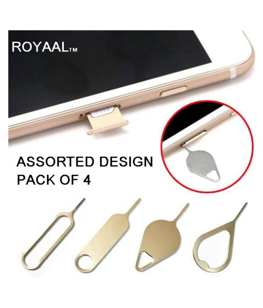ROYAAL™  Mix Style Metal Mobile Phone Ejection Pin SIM Card Removing Pin for Android/iPhone and all sim phones