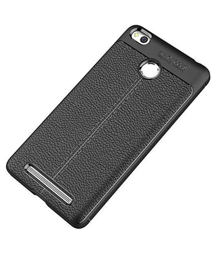 Xiaomi Redmi 3S Prime Shock Proof Case Maggzoo   Black Autofocus Back Cover Case