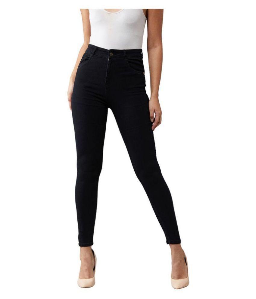 Dolce Crudo Denim Jeans - Black