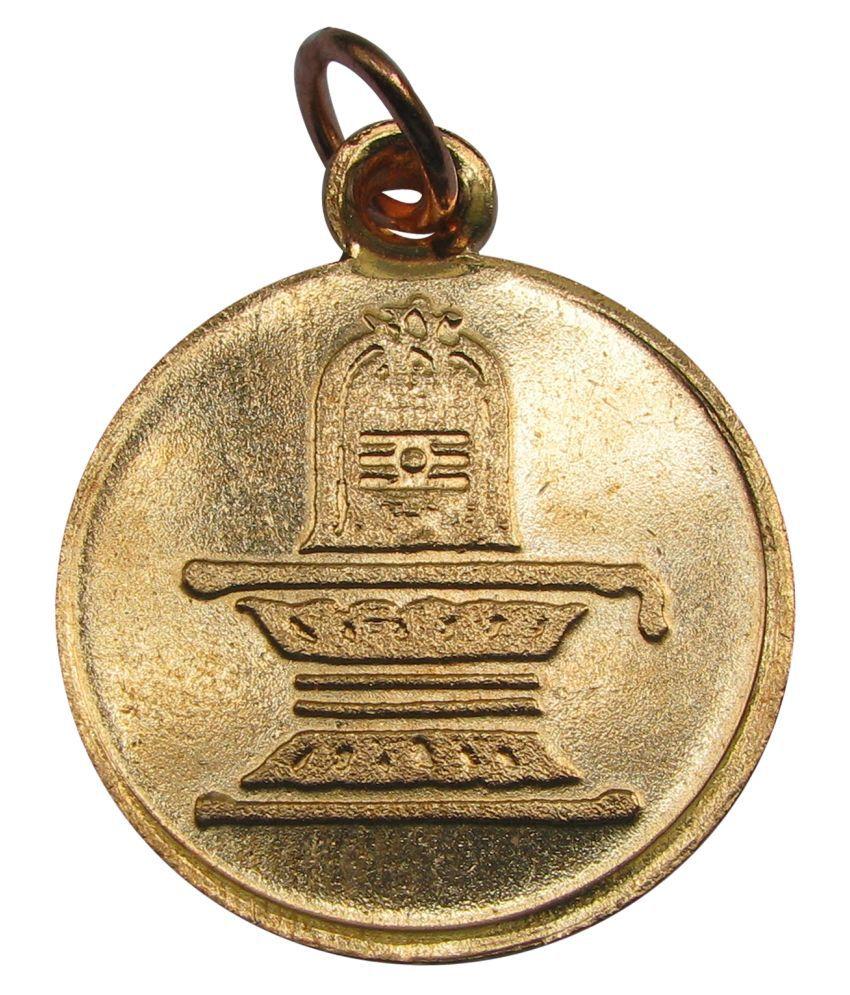 Shiv Lingam With Tilak Pendant Kavach Locket