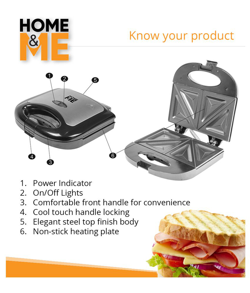 Home Me Combo Pack 750 Watts Quik Sandwich Maker Grilled Sandwich Toaster Sandwich Grill And Quikchop Vegetable And Fruit Pull Chopper Easy Pull Chopper Chopper Cutter Chopper Combo Buy Online At Best