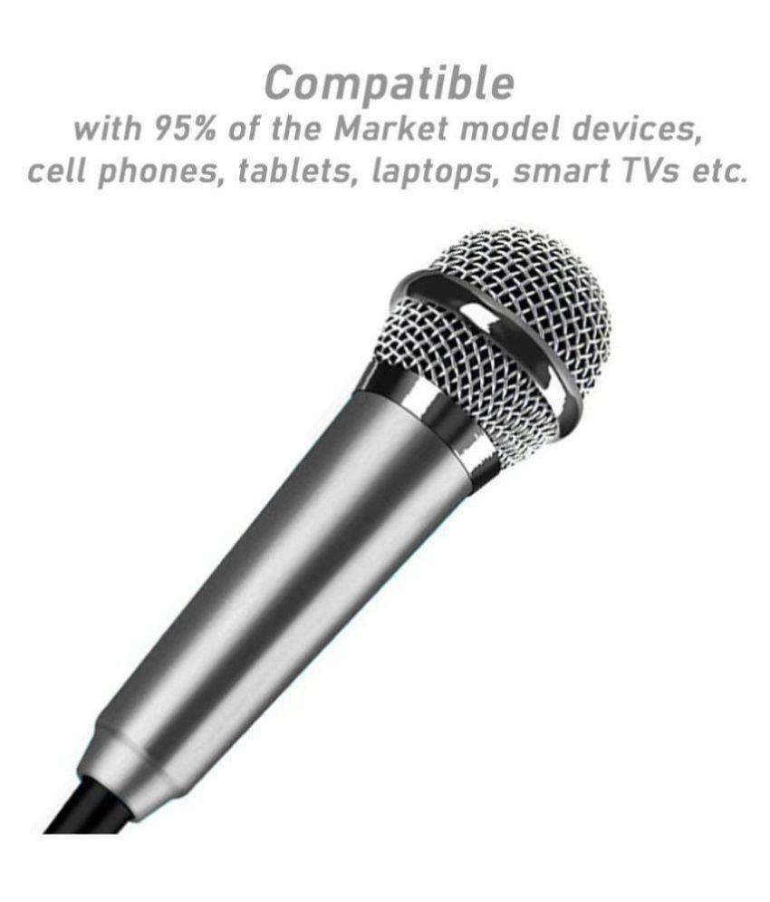Triangle Ant Lapel Mini Condenser Microphone