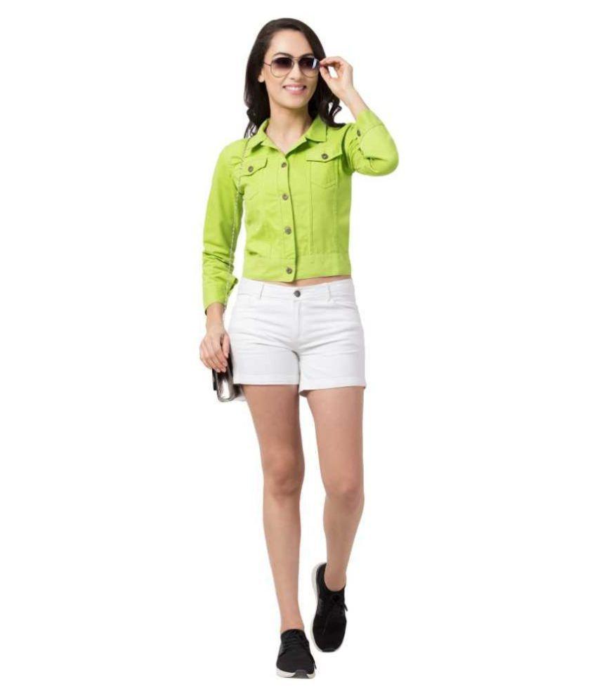 retrobella Denim Green Jackets