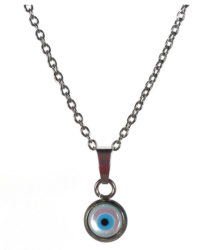 Evil Eye Pendant for Protection from Evil Eyes for unisex without chainby KUNDLI GEMS