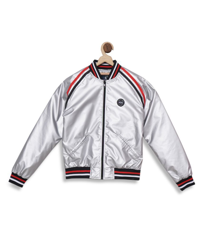 Red Tape Boys Silver Jacket