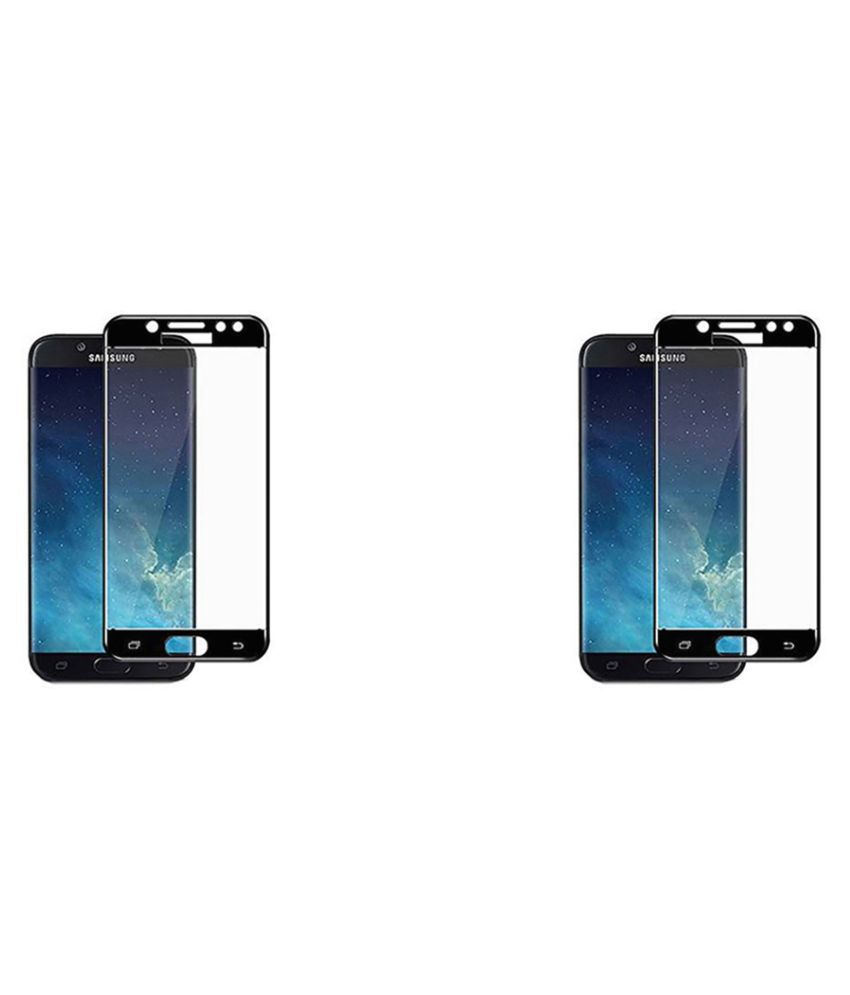 Samsung J7 Pro Tempered Glass by CraveMart