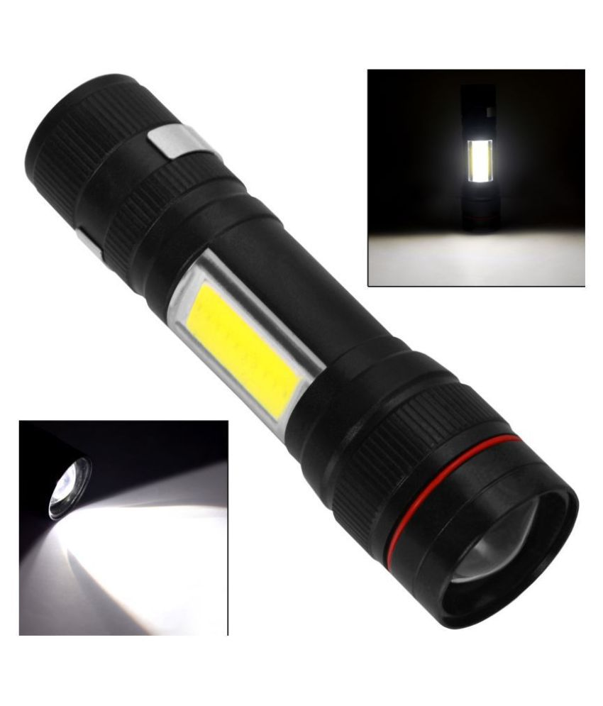 SJ 5W Flashlight Torch 250 M Rechargeable - Pack of 1