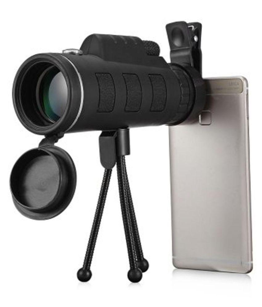 Telescope, 10x42 High Definition Monocular with Smartphone Adapter & Tripod, Waterproof Fog Proof