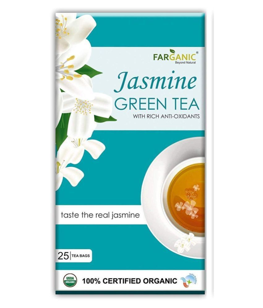 FARGANIC Green Tea Bags 25 no.s