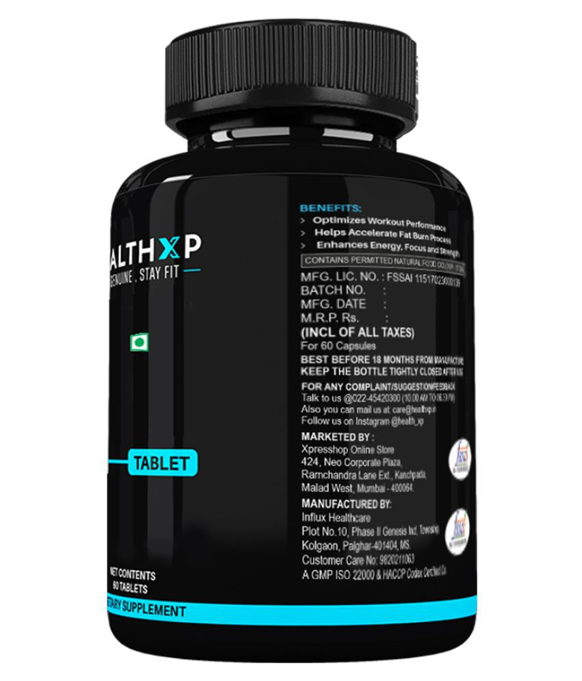 HealthXP Natural Testosterone Booster PRO Capsule 60 no.s: Buy HealthXP Natural Testosterone