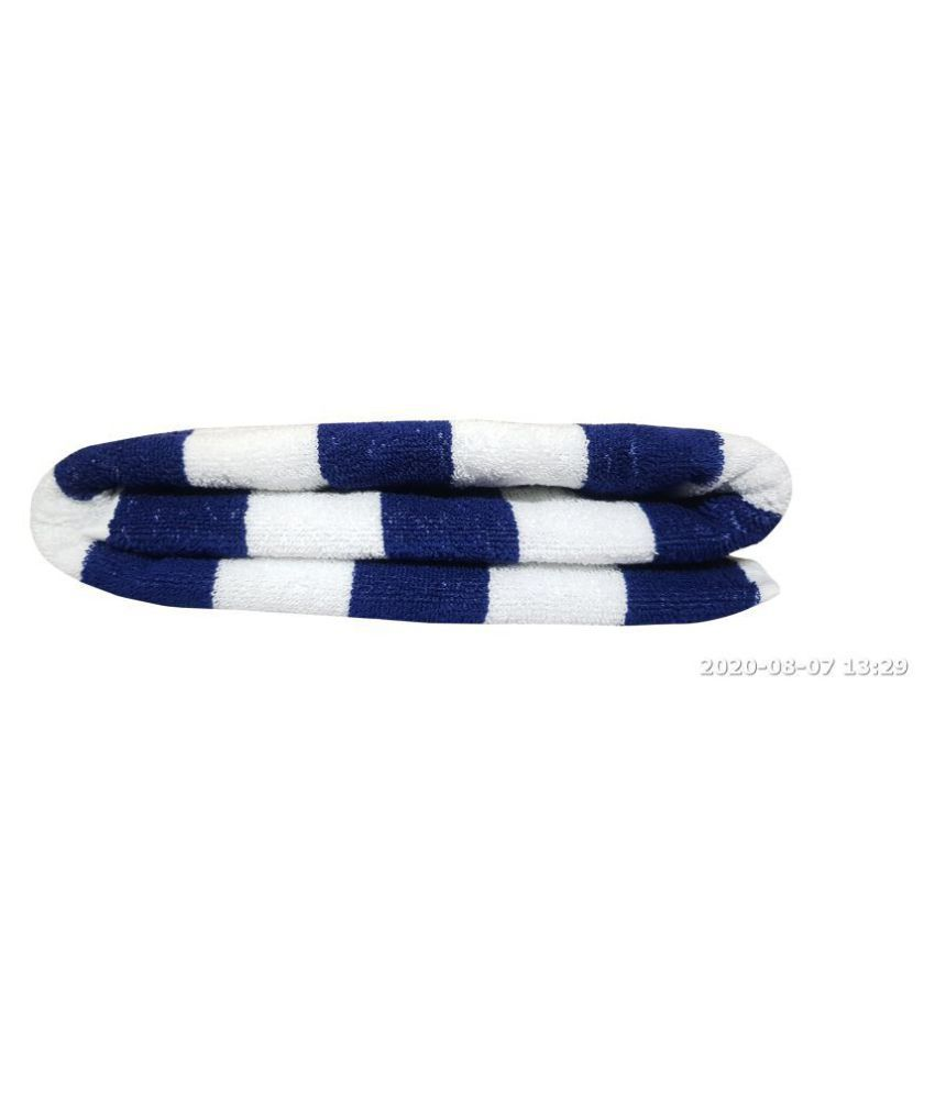 ASPENHOME Single Cotton Bath Towel Blue