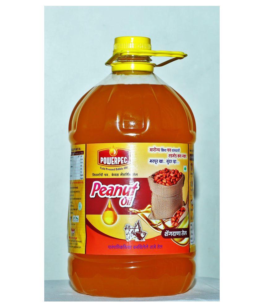 POWERPEC Groundnut Oil 5 L