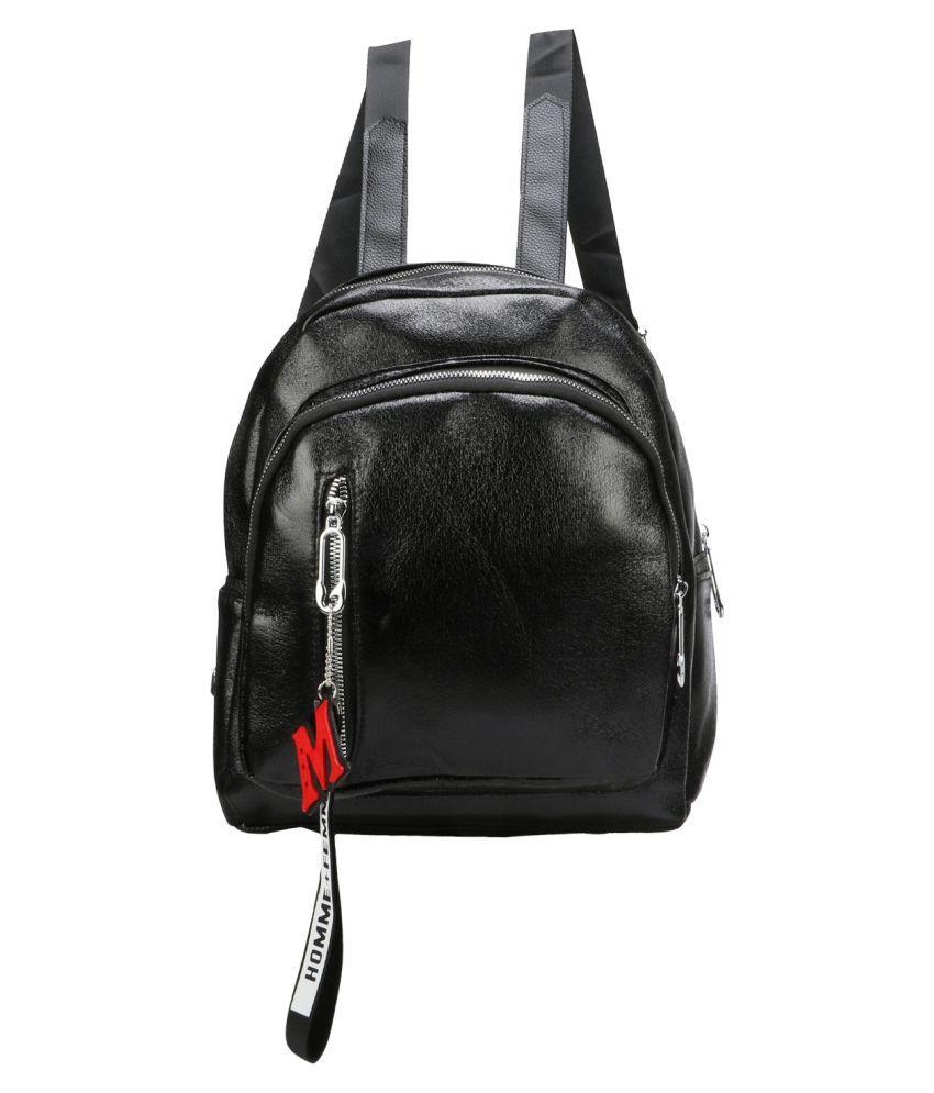 aims fusion Black Canvas College Bag