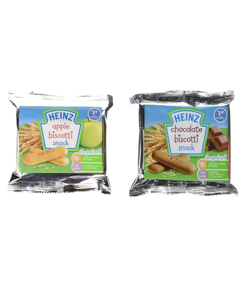 Heinz Apple,Chocolate Snack Foods for 6 Months + ( 0.2 gm )