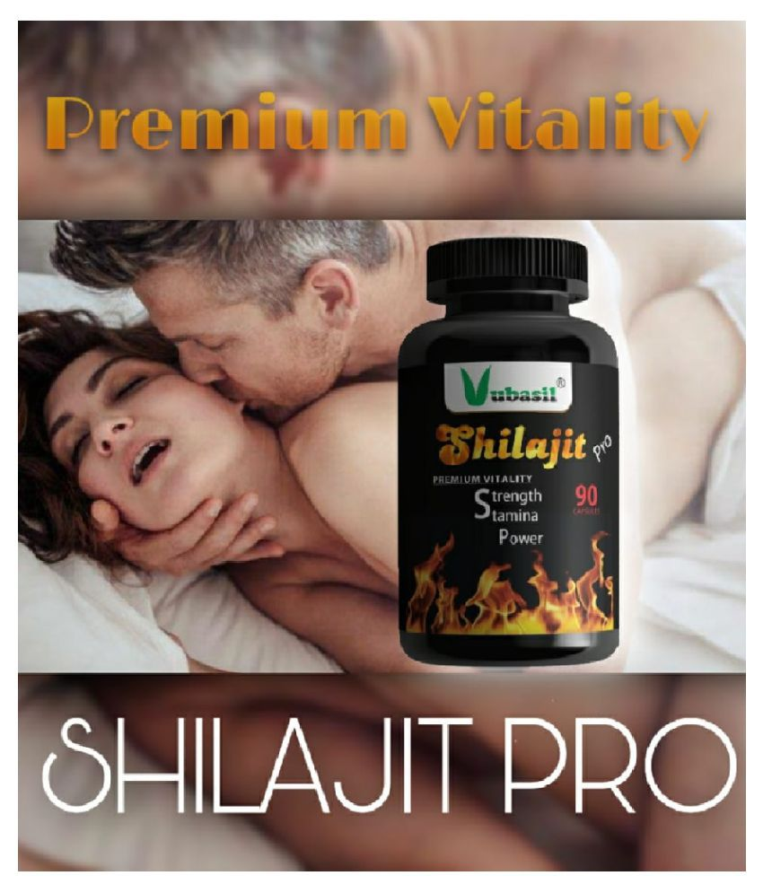 Shilajit PRO (90 Capsules) 100% Natural Pure & Safe Shilajeet Gold Extract with Ashwagandha Safed Musli Extracts for Strength Stamina Energy Power Rejuvenation Immunity Horse Power Sexual Power Vitalizer For Men & Women Ayurvedic Organic Herbal & Veg