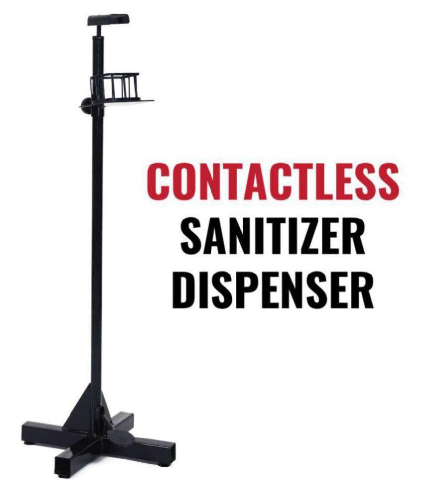 SATJEEVAN Carbon Steel Sanitizer Dispenser
