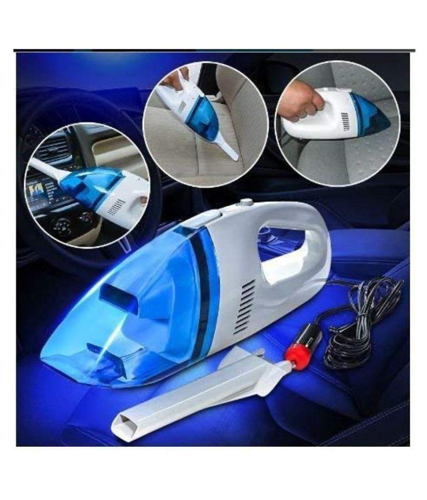 12 V Car Multipurpose Wet and Dry Vacuum Cleaner  Material : Plastic