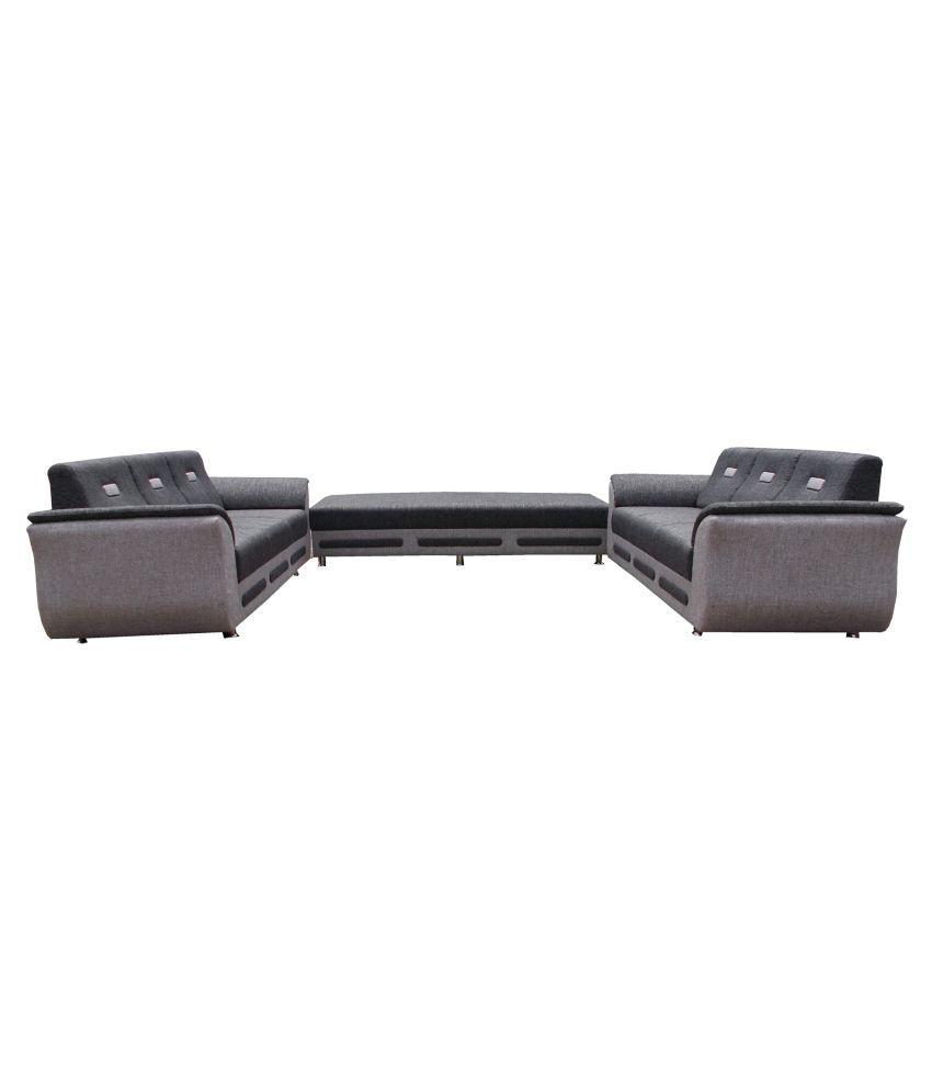 Ronak Sofaset 3+3+3 Seater sofa set