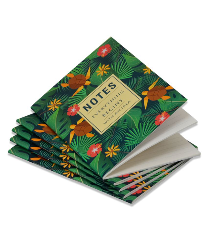 COI Notes Everything Beging With an Idea Notebooks & Pocket Diary Set of 5.