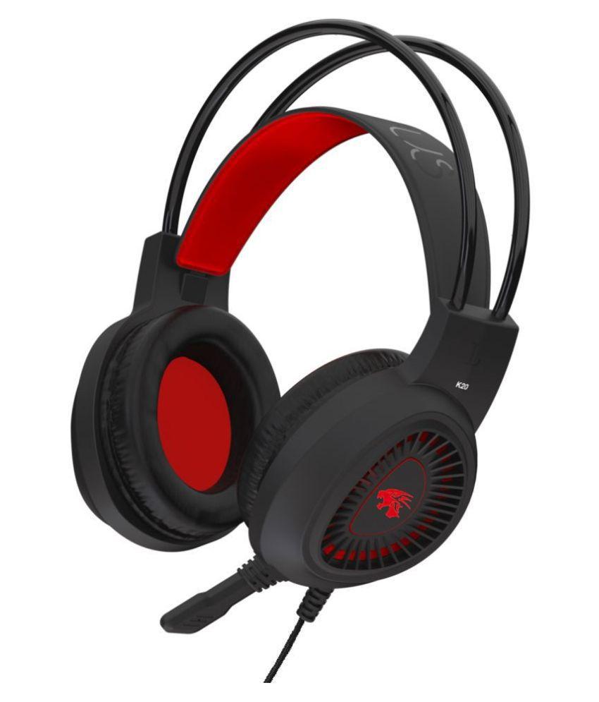 Probus K20 Gaming Headphone Over Ear Wired With Mic Headphones/Earphones
