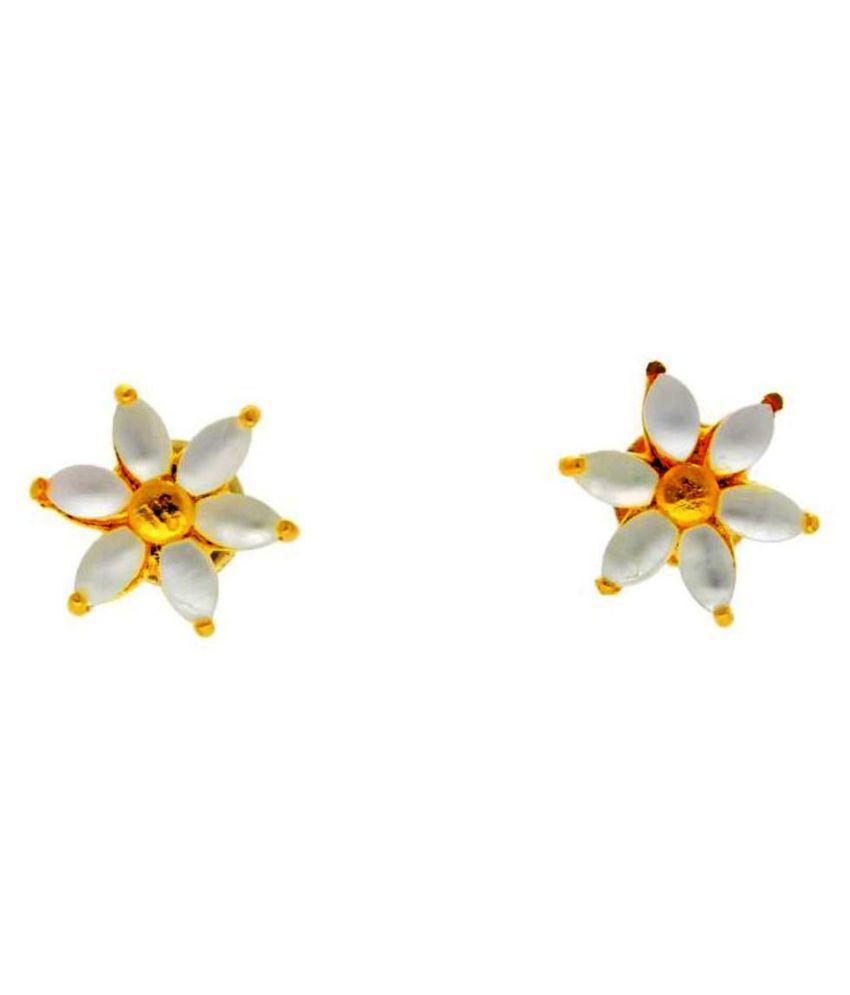 Stylish Albeni Pearl Earrings By KNK Jewellery