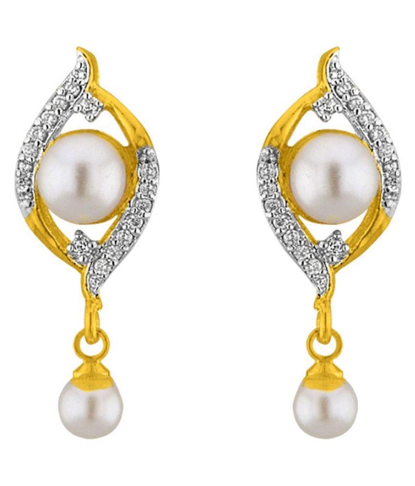 Stylish & Trendy Deana CZ- Earrings By KNK Jewellery