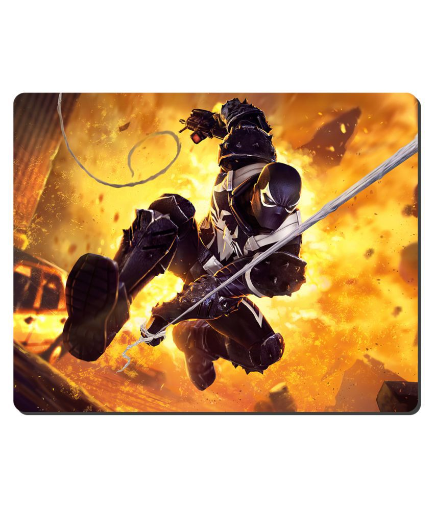 Ryca Marvel Avengers Iron Man High Resolution Mouse pad HD Print AntiSkid base High Speed Quality Mousepad