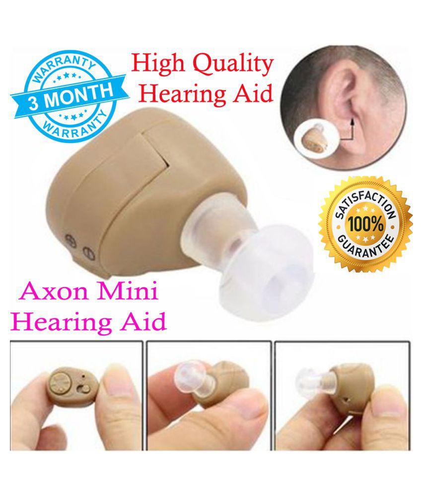 IND AXON Mini Hearing Aid Sound Amplifier Digital Ear Volume Adjustable Machine High Quality  Ear Hearing aids