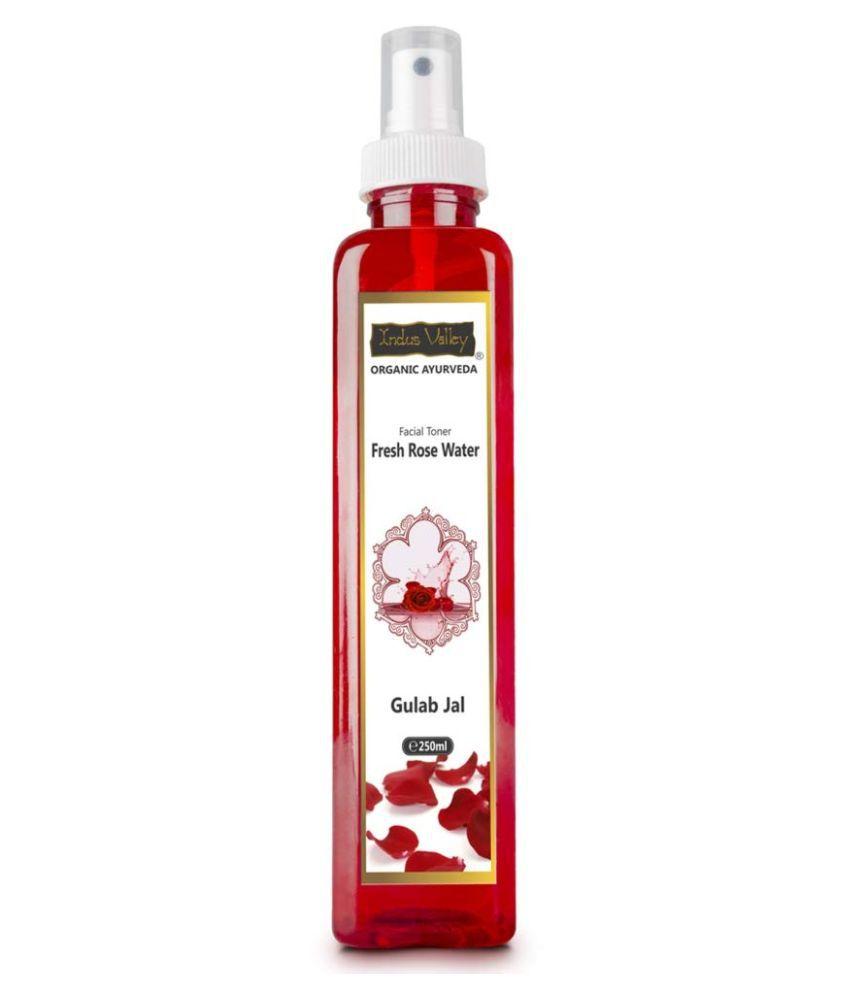 Indus Valley Bio Organic Fresh Rose Water Skin Tonic 250 mL