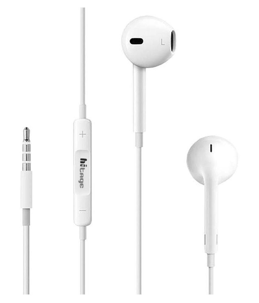 hitage HB 687+ Music Earphone I phone In Ear Wired With Mic Headphones/Earphones