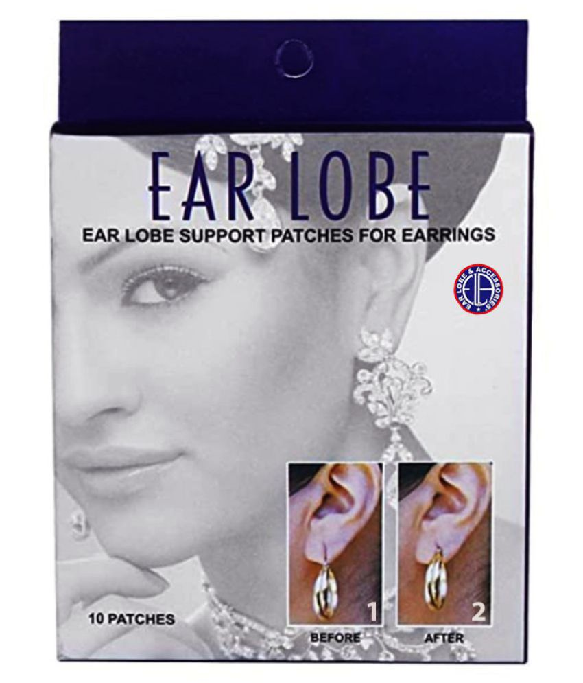 Ear Lobe & Accessories Ear Lobe Support For earrings 10patches