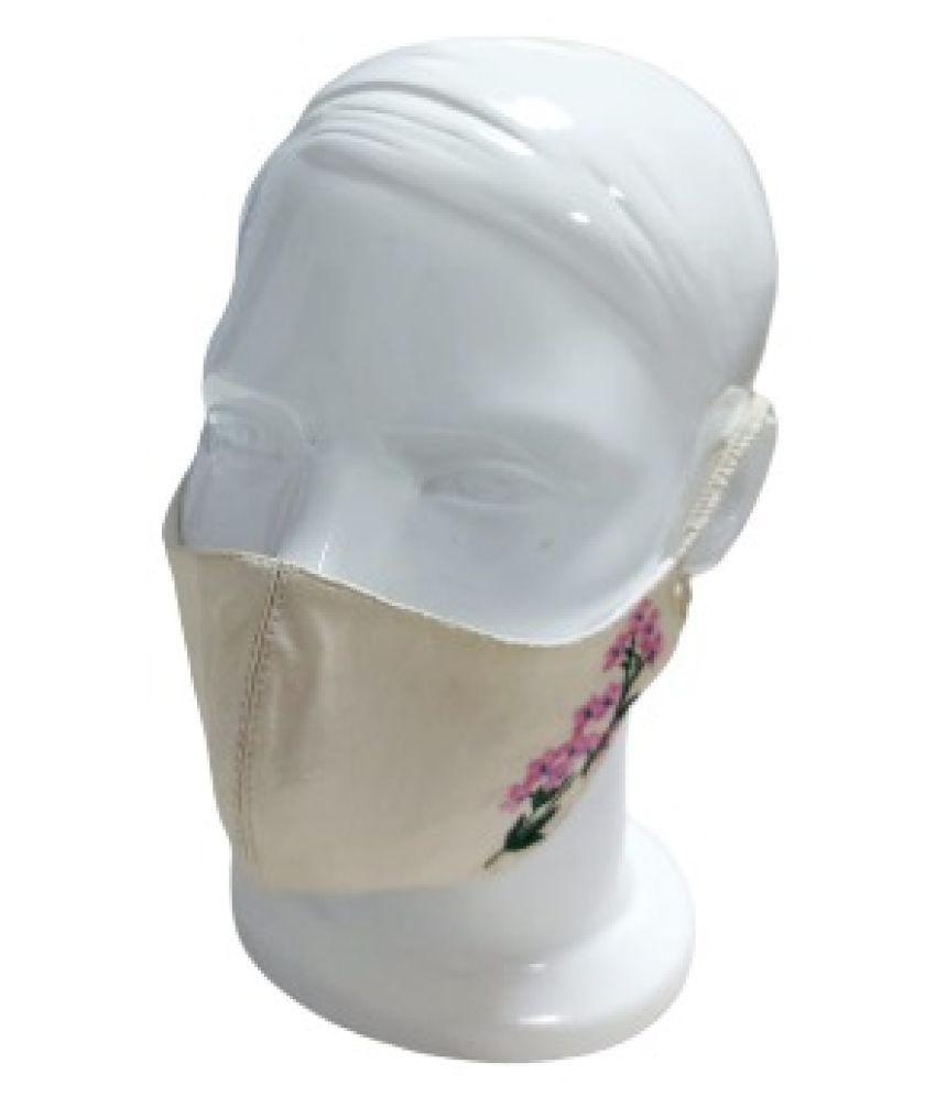 THEKAVACH Embroidery designer mask Respirators