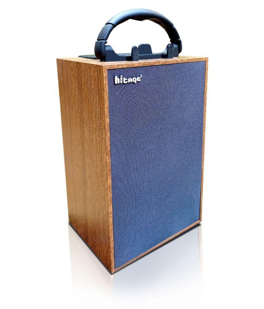 hitage Bs-319+portable Bass Bluetooth Speaker