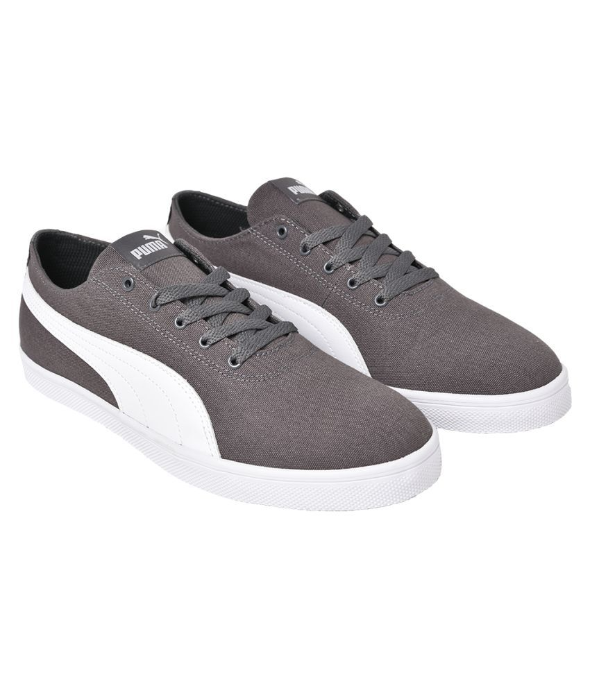 Puma Sneakers Gray Casual Shoes