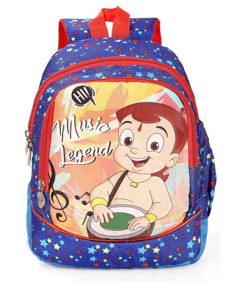 Disney Blue Fabric College Bag