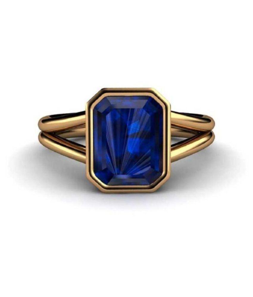 Blue Sapphire Neelam 8.25 Ratti Blue Sapphire Stone