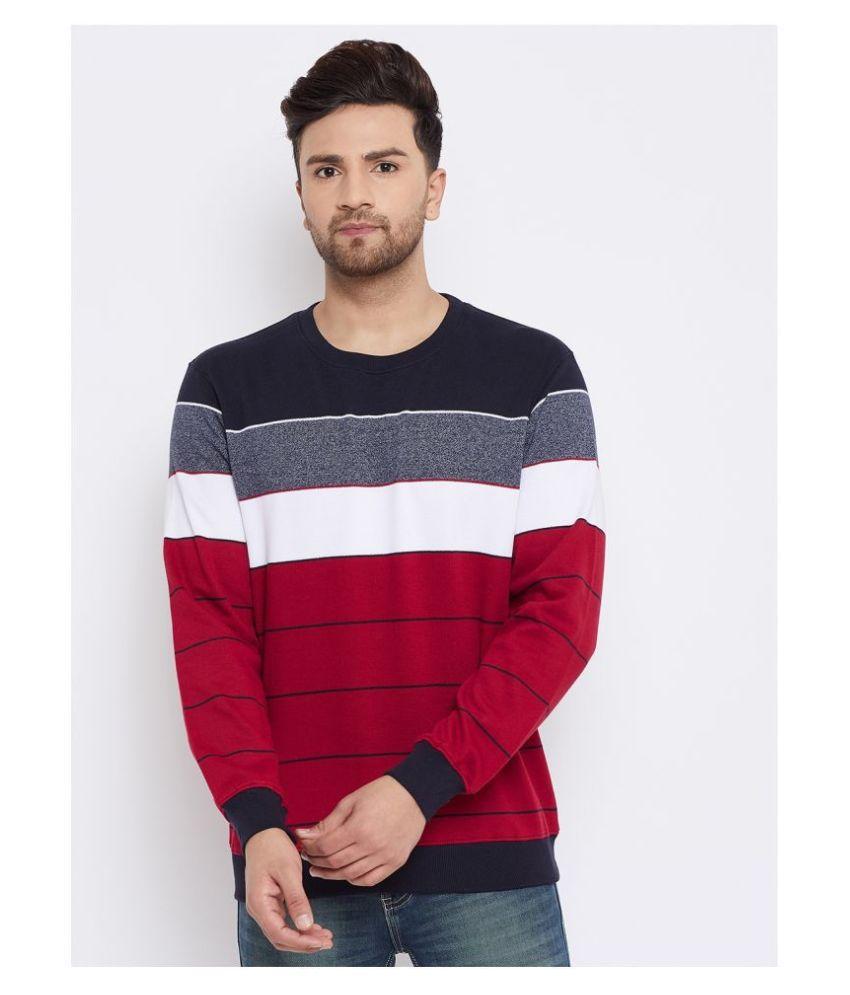 BISHOP COTTON Red Sweatshirt