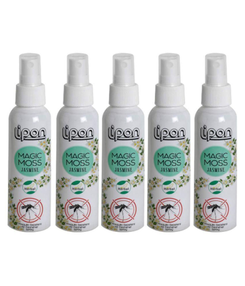 LIPON Mosquito Repellent Spray 100 mL Pack of 5