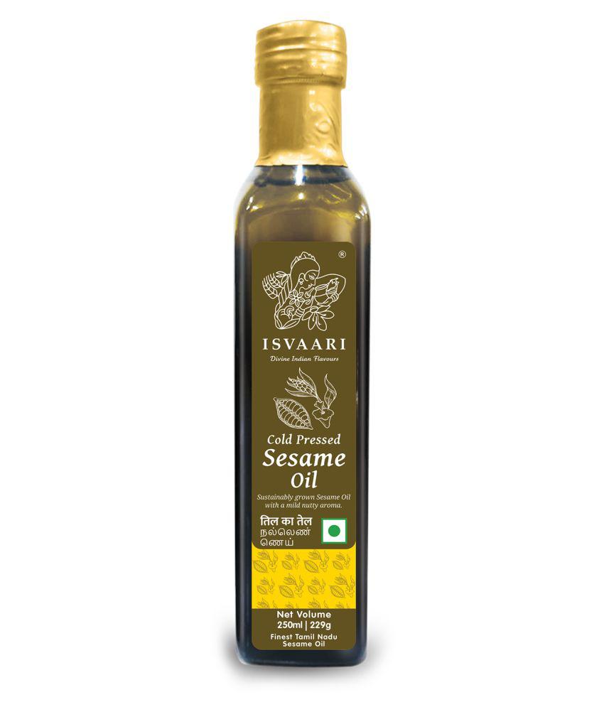 ISVAARI Virgin Sesame Oil 250 mL