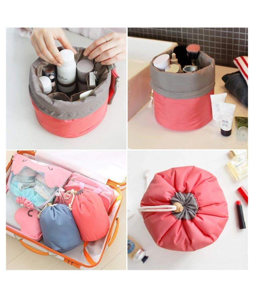 Electo Mania Pink Cosmetic Makeup Bag