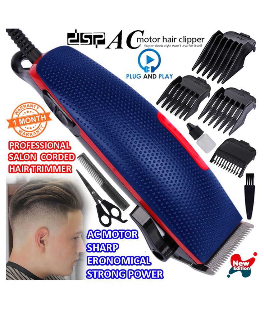 Electric Men's Hair Clippers Beard Hair Trimmer Hair Cutting For Salon Use Casual Gift Set