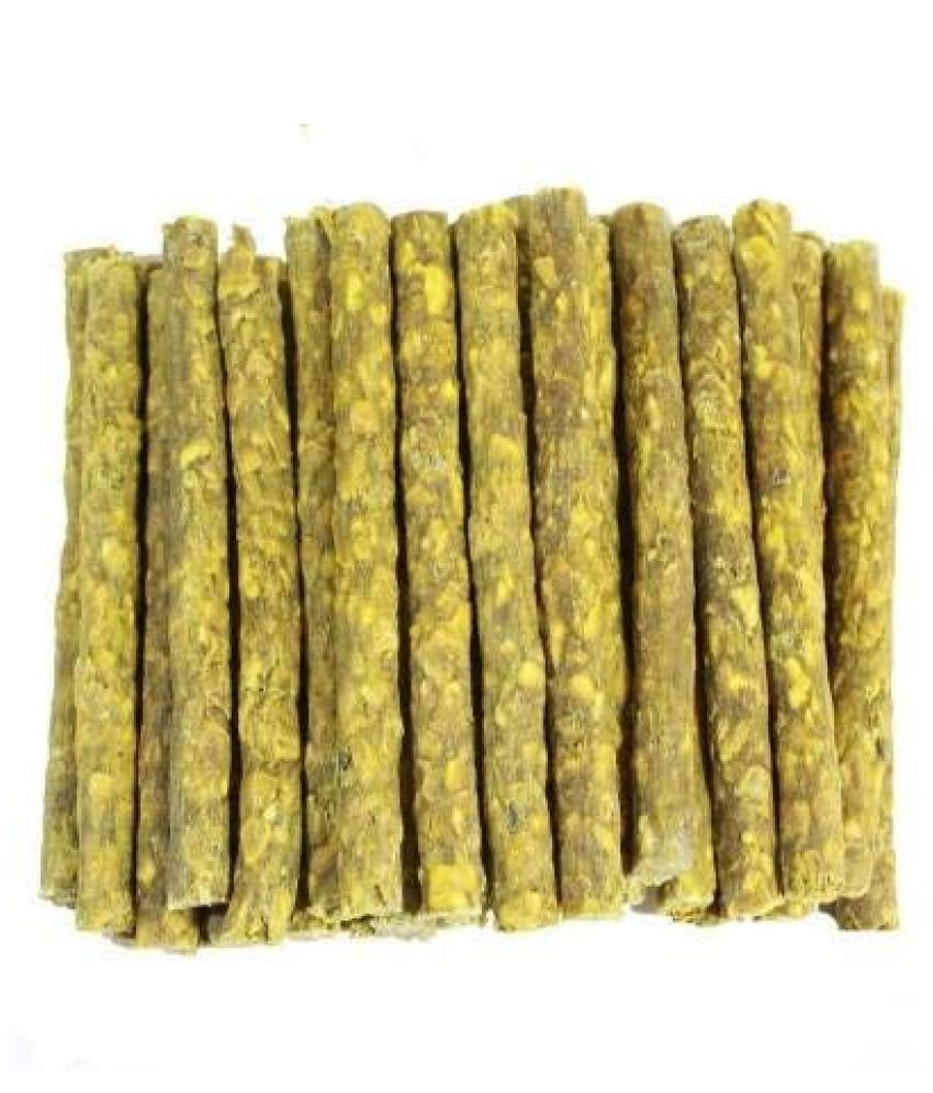 KOKIWOOWOO Chewing Sticks Treats Chicken Flavor Treat for Dogs