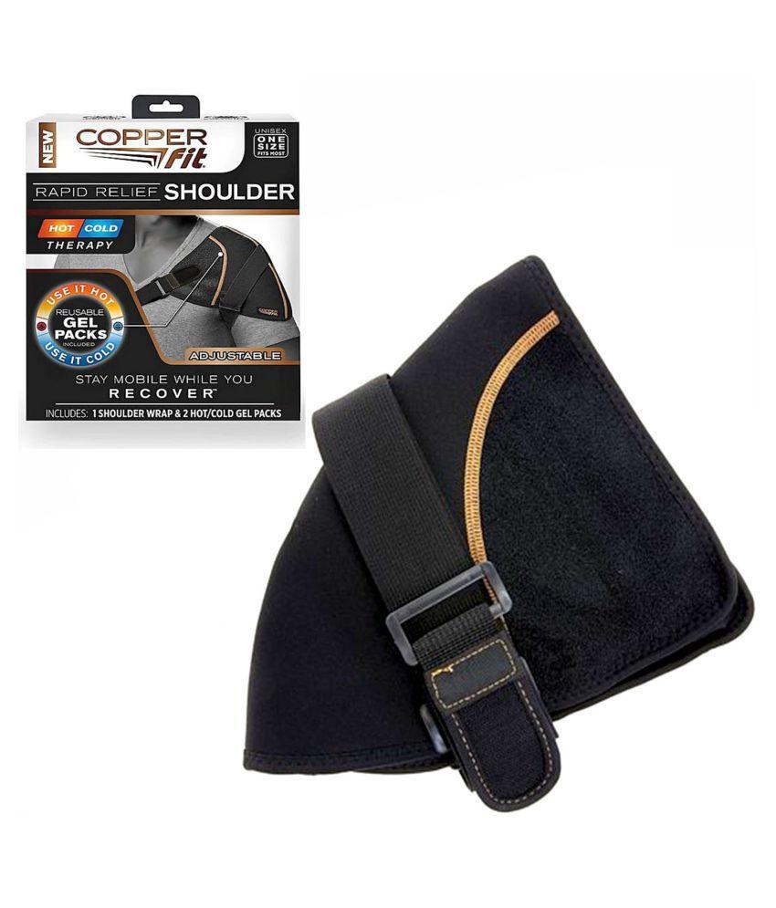 SELVA FRONT Hot/Cold Copper Fit Rapid neck pain Relief Belt XL