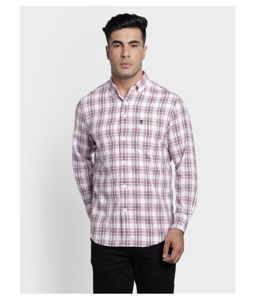 Red Tape 100 Percent Cotton White Shirt