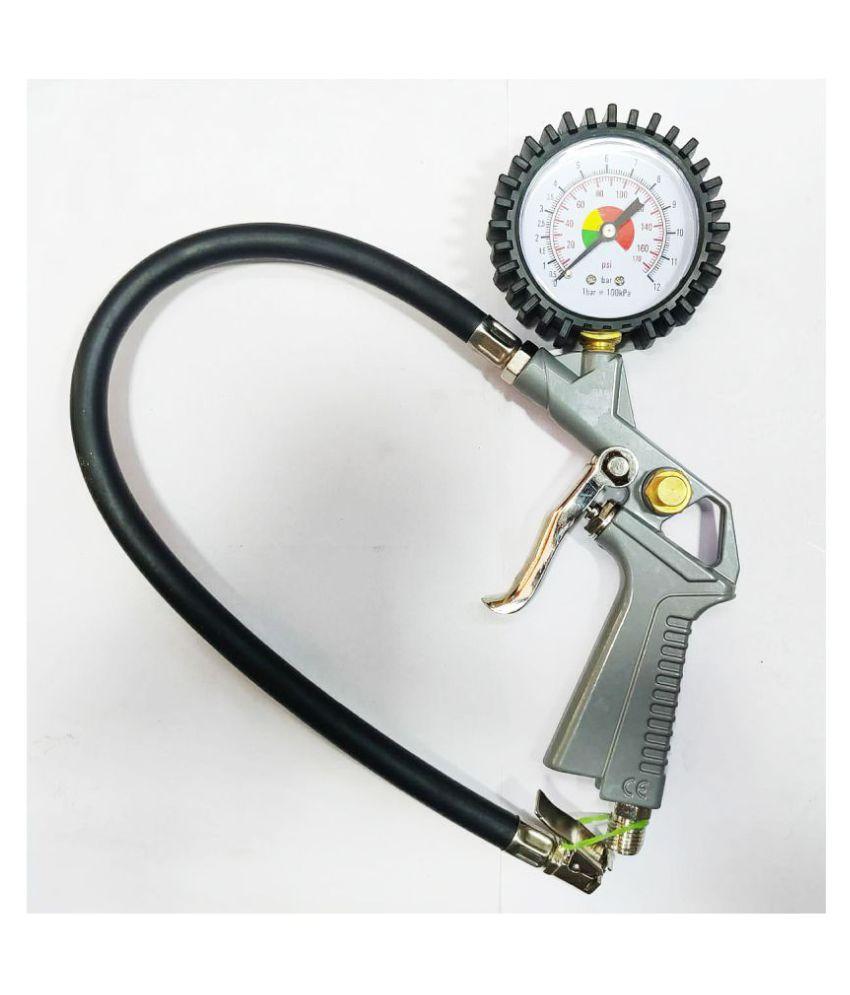 Mega Tyre Pressure Gauge Analogue Type