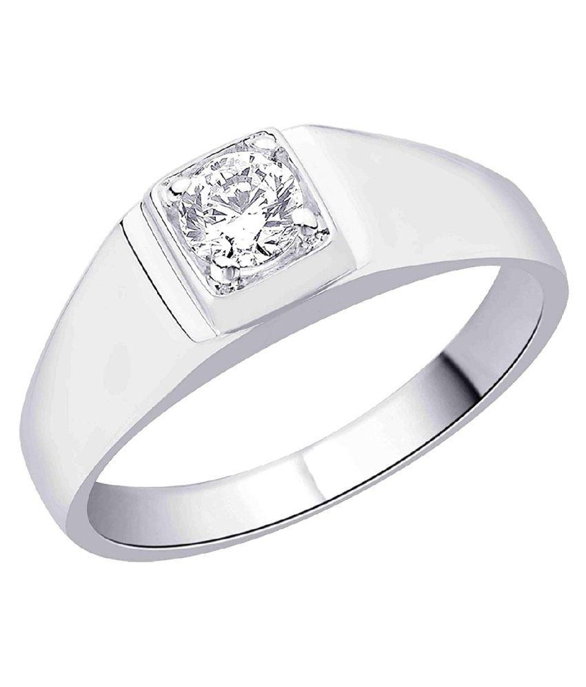 9 ratti silver  ZIRCON  Ring for unisex by KUNDLI GEMS\n